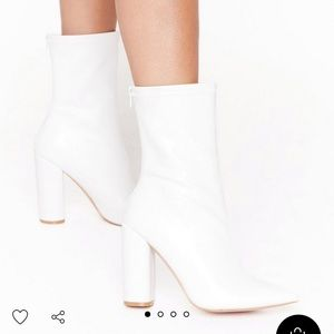 Nasty gal booties